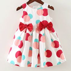 Check out my new Polka Dotted Bowknots Decor Ruffled Sleeveless Dress for Baby and Toddler Girl , snagged at a crazy discounted price with the PatPat app.These light colored side-snap undershirts are just easy to associate with because they are soft Kids Dress Wear, Toddler Girl Outfits, Toddler Girl Dresses, Toddler Fashion, Kids Outfits, Kids Fashion, Fashion Clothes, Fashion Fashion, Fashion Jewelry