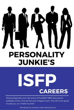 Click through to read Personality Junkie's take on careers for ISFPs: http://personalityjunkie.com/isfp-esfp-careers-jobs-majors/