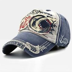 192ff2ed7 Men Wild Casual Embroidery Hat. Outdoor Sun ShadeHat For ManWash Baseball  CapBaseball HatsSnapback ...