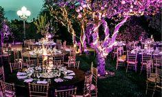 How To Create An Enchanted #Wedding Theme. Image by Aaron Eye Photography