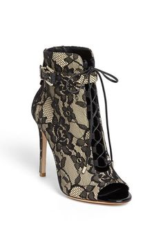 B Brian Atwood 'Linford' Sandal Boot, sadly not in my size but I want something like this so bad!