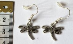 Novelty fun earrings choose from starfish wing by NotRealSilver