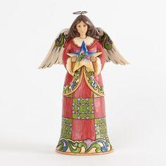 Figura angel HEAVENLY FIRST NOEL de Jim Shore. See more at http://www.lacasadelocio.es/