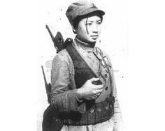 抗戰時期的廣西女兵