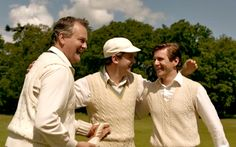 Downton guys, look how happy in their little sweater vests!