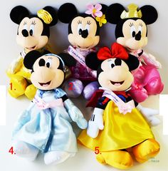 Rakuten 2014 ★ Minnie ☆ Princess stuffed all five Tokyo Disney Resort limited Minnie Princess Plush Limited in Tokyo Disney Resort: Panna House