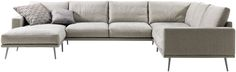 Modern Carlton sofas - Quality from BoConcept -i like the thin base