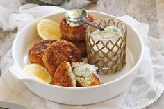This light and lovely seafood dish is a flash in the pan, but will fast become a family favourite. Calamari Recipes, Prawn Recipes, Salmon Recipes, Seafood Recipes, Savoury Recipes, Chocolate Olive Oil Cake, Salmon Patties Recipe, Fish Dishes, Seafood Dishes