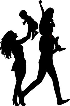 Free Image on Pixabay - Family, Mother, Father, Silhouette Silhouette Painting, Horse Silhouette, Silhouette Design, Kirigami, Free Pictures, Free Images, Painting Love Couple, Family Drawing, Garden Frame