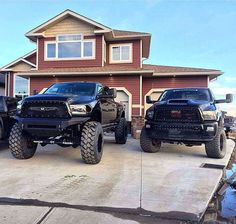 Goals! His and hers in the driveway