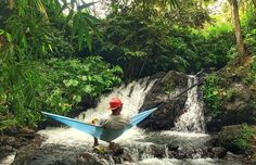 @Regrann from @iandieryz -  Once upon a time in the Waterfall  #hammock #hammockindonesia #waterfall #falls #airterjun #indonesia #instagram #instadaily #photooftheday #river #hangout #chill #iphoneonly #nap #instavsco #follow4follow #green #fresh #hammocklife #Regrann by @hammock_bwi