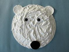 Polar Bear, Polar Bear, What Do You Hear? written by Bill Martin Jr. and Eric Carle is an enjoyable book to read to children about animals, and there are so many great activities to go along with the book, like this Puffy Paint Polar Bear craft for kids!  This simple and messy fun Winter craft activity is a blast for preschool and kindergarten children to make and just perfect for a Winter Animal-theme unit!  So, what are you waiting for? Let's get paint Polar Bears!    Craft...
