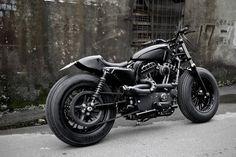 Harley Davidson Sportster Custom. The Bomb Runner