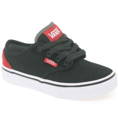 1654a8bc11 Atwood Junior Boys Lace Up Canvas Shoes