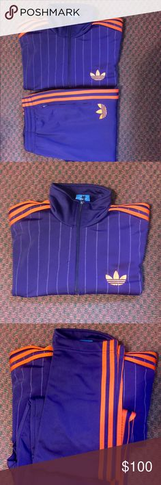 ADIDAS SUIT ADIDAS SUIT IN EXCELLENT CONDITION HARD TO FIND THIS COLOR LARGE ADIDAS Other