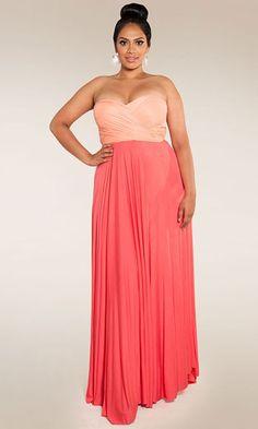 long black formal dresses plus size - Google Search | Dresses ...