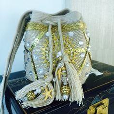 Crochet Clutch, Crochet Handbags, Mochila Crochet, Tapestry Bag, Rope Necklace, Quilted Bag, Vogue, Cloth Bags, Handmade Bags