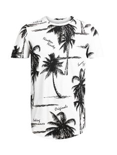 - Slim fit for a sleek look - Comfortable cotton material - All-over printed floral design - The model is wearing a size L and is 187 cm tall - ORIGINALS by JACK & JONES