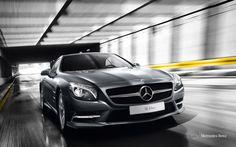 Mercedes-Benz SL-Class. Fuel consumption combined: 11,6-6,8 l/100km, CO2 emissions combined: 270-159 g/km. #MBCars