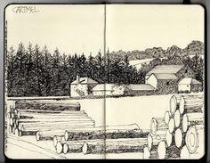 Ian Sidaway Fine Line: Cartmel