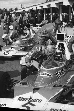 Fittipaldi-Hulme 1974 Sweden McLaren M23