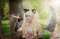 Warrior Meowth Cosplay by jennifercosplay