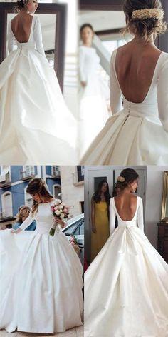 Fall Wedding Outfits, Top Wedding Dresses, Wedding Dress Chiffon, Backless Wedding, Wedding Dress Trends, Lace Dresses, Autumn Wedding, Lace Wedding, Rustic Wedding