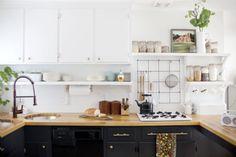 Post: Antes/Después – Cocina nueva con pintura --> antes después cocinas, blog decoración, cambiar cocina con pintura, cocina nueva con pintura, cocinas antiguas reformadas, cocinas modernas blancas, decoracion de cocinas, pintar cocina, reformas cocinas