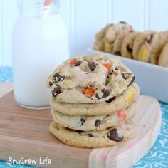 Peanut Butter Chocolate Chip Cookies. YUMM!
