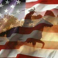 America and Cowboys.what more could a girl ask for? Patriotic Pictures, Holiday Pictures, Patriotic Quotes, I Love America, God Bless America, American History, American Flag, American Pride, Rodeo Life
