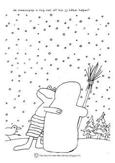 Kleuterjuf in een kleuterklas: Werkboekje Toddler Art Projects, Toddler Crafts, Winter Words, Black Construction Paper, Sport Craft, Frozen, Christmas Tree Pattern, Weaving Projects, Tree Patterns