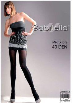 Collant voile femme Microfibre 40 deniers Mat lingerie Gabriella  Chaussettes 92a11fc3ad0