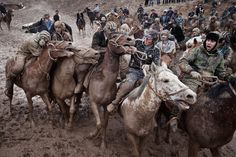 Buzkashi in Tajikistan, Central Asia | Theodore Kaye - Central and East Asia Photography