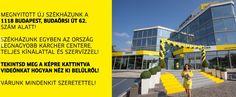 Látogasson el az ország legnagyobb Kärcher centerébe!  https://www.kaercher.com/hu/