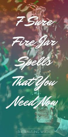 7 Sure Fire Jar Spells That You Need Now // Witchcraft // Magic // The Traveling Witch Jar Spells, Luck Spells, Healing Spells, Money Spells, Wiccan Spells, Magic Spells, What Is Spirituality, Spells For Beginners, Witch Bottles