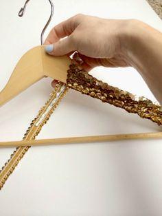 Sequin Hanger Tutorial!