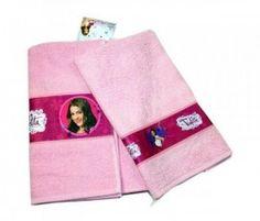 Disney Violetta Set Asciugamano