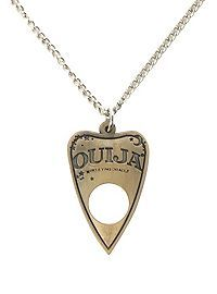 HOTTOPIC.COM - Ouija Planchette Necklace