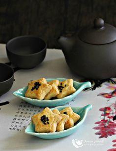 Salted Egg Yolk Cookies 咸蛋黄酥饼 CNY 2016