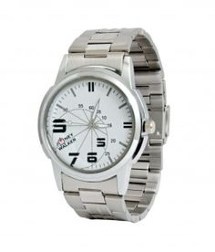 Snapdeal- Buy Joney Walker Silver Metal Watch at Rs. 349 (99% Off)