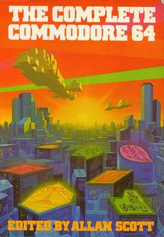 Vibrant 80's art from a Commodore 64 book cover. I love the color!