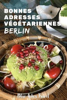 Mes bonnes adresses végétariennes à Berlin | Blue Ashes Travel Blue Ash, Voyage Europe, Acai Bowl, Berlin, Road Trip, Green Lifestyle, Breakfast, Destinations, Happiness