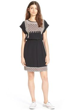 Madewell Embroidered Dress available at #Nordstrom