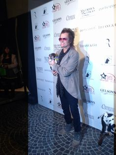 Here I am on the Red Carpet @ the Amanda Foundation animal rescue Beverly Hills. With my lil' puppy...