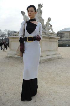 Street style - Paris fashion week