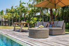 Geniet van je eigen plekje Paradijs in de tuin met de Tuinmeubelen van Prananatha! http://prananatha.be/nl/outdoor