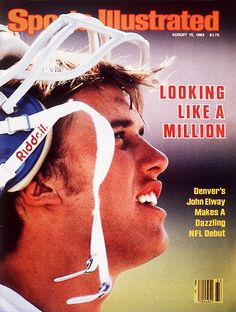 John Elway.  1983--The year I moved to Colorado.  What a fun ride he was for this dedicated 49er fan  :-)
