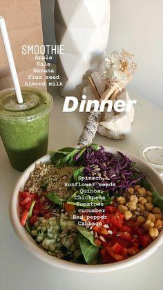 Think Food, I Love Food, Healthy Snacks, Healthy Eating, Healthy Recipes, Dinner Healthy, Food Goals, Food Is Fuel, Aesthetic Food