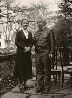 Einstein and his alleged lover, Soviet spy and a wife of a famous Russian architect, Margarita Konenkova
