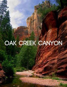 Ancient ruins and red rocks along Oak Creek Canyon | The mysterious allure of Sedona.